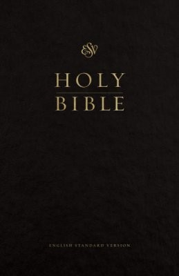 ESV Premium Pew and Worship Bible (Black) (Hard Cover)