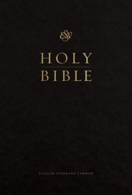 ESV Pew and Worship Bible, Large Print (Black) (Hard Cover)