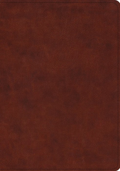 ESV Study Bible, TruTone, Chestnut (Imitation Leather)