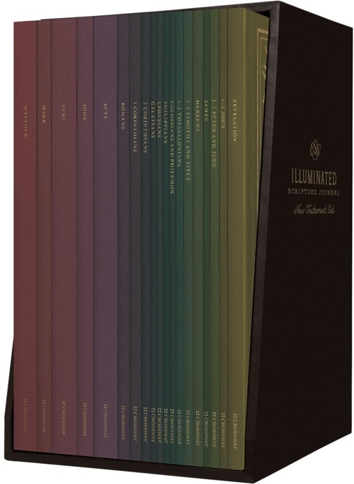 ESV Illuminated Scripture Journal: New Testament Set (Paperback)