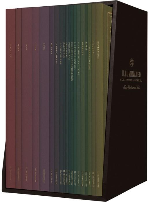 ESV Illuminated Scripture Journal: New Testament Set (Paperback)
