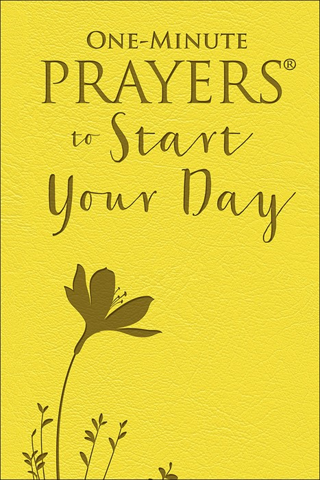 One-Minute Prayers to Start Your Day (Imitation Leather)