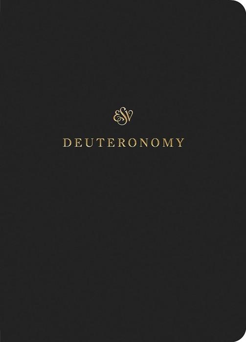 ESV Scripture Journal: Deuteronomy (Paperback)