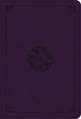 ESV Value Large Print Compact Bible, Lavender (Imitation Leather)