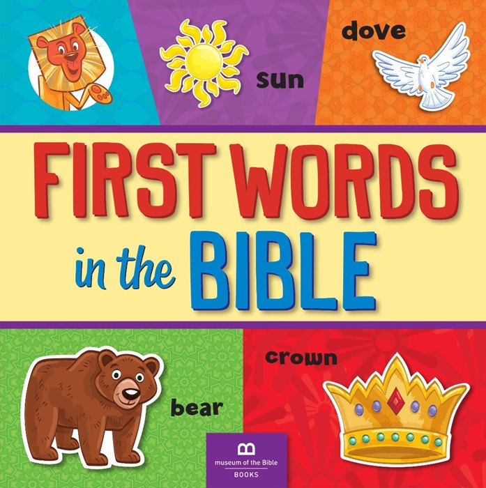 First Words In The Bible (Board Book)