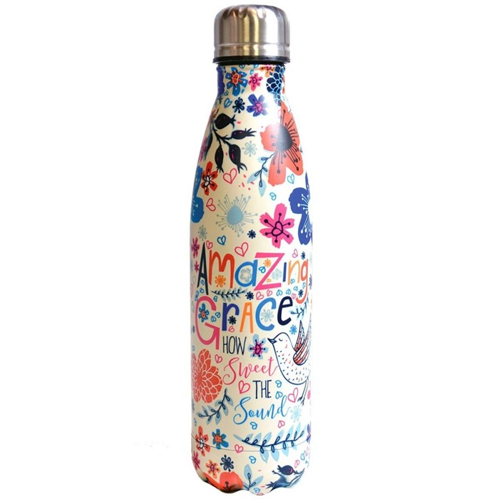 Amazing Grace Stainless Steel Water Bottle (General Merchandise)