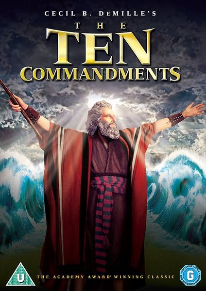 The Ten Commandments DVD (DVD)