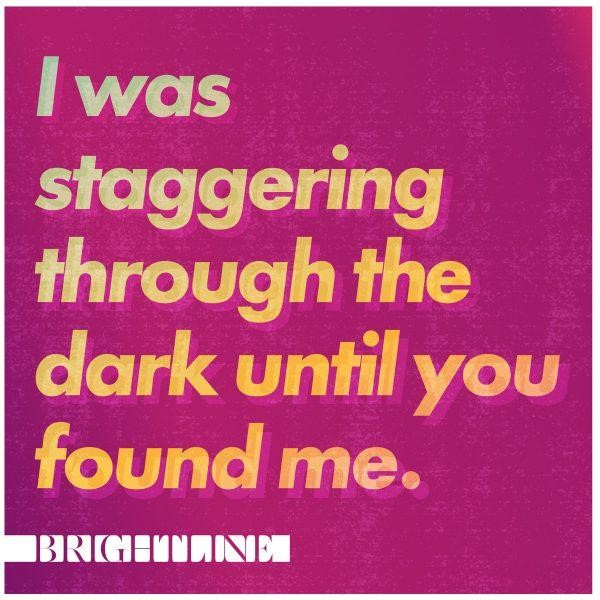 I Was Staggering Through The Dark Until You Found Me CD (CD-Audio)
