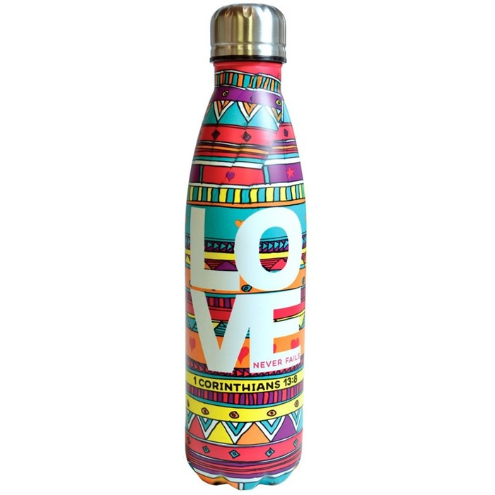 Love Doodle Stainless Steel Water Bottle (General Merchandise)