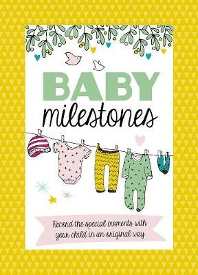 Baby Milestone Cards (Hard Cover)