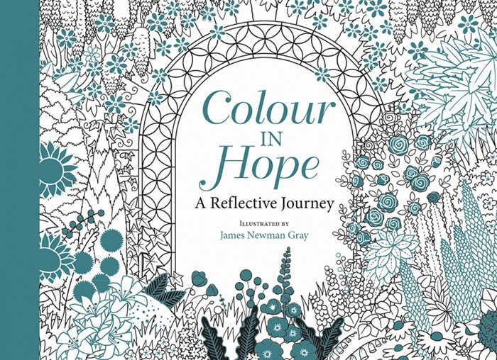 Colour In Hope Postcards (Postcard)