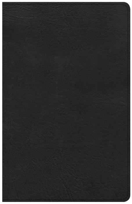 KJV Large Print Personal Size Reference Bible, Black (Imitation Leather)