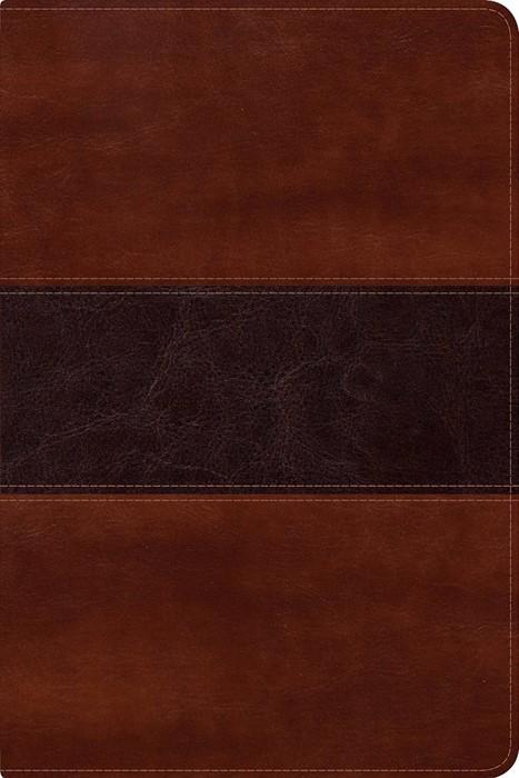 RVR 1960 Biblia del Pescador letra grande, caoba símil piel (Imitation Leather)