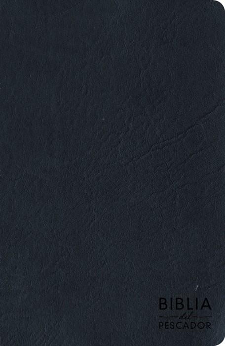 RVR 1960 Biblia del Pescador letra grande, azul símil piel (Imitation Leather)