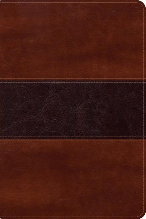 NVI Biblia del Pescador letra grande, caoba símil piel (Imitation Leather)