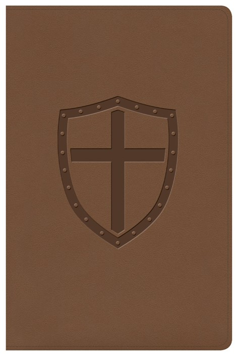 CSB Defend Your Faith Bible, Walnut LeatherTouch (Imitation Leather)