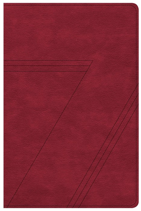 CSB Seven Arrows Bible, Crimson LeatherTouch (Imitation Leather)