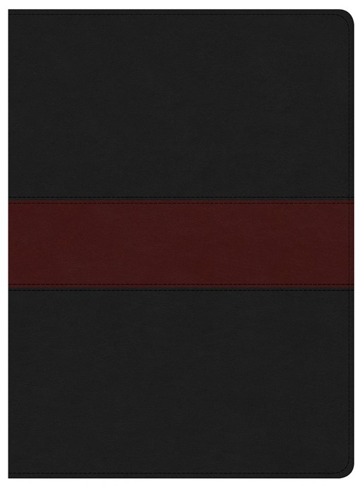 KJV Apologetics Study Bible, Black/Red Leathertouch (Imitation Leather)