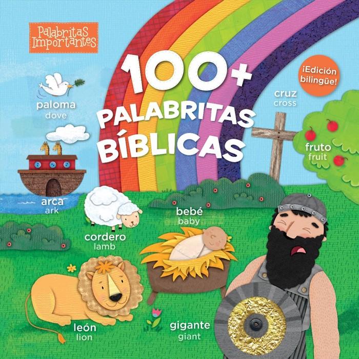 100+ palabritas bíblicas (edición bilingüe) (Board Book)