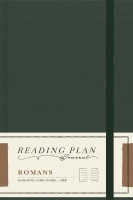 Romans, Reading Plan Journal (Hard Cover)