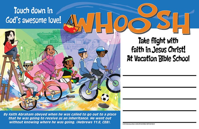 VBS 2019 Whooosh Outdoor Banner (Poster)