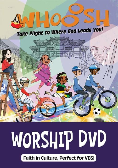VBS 2019 Whooosh Worship DVD (DVD)