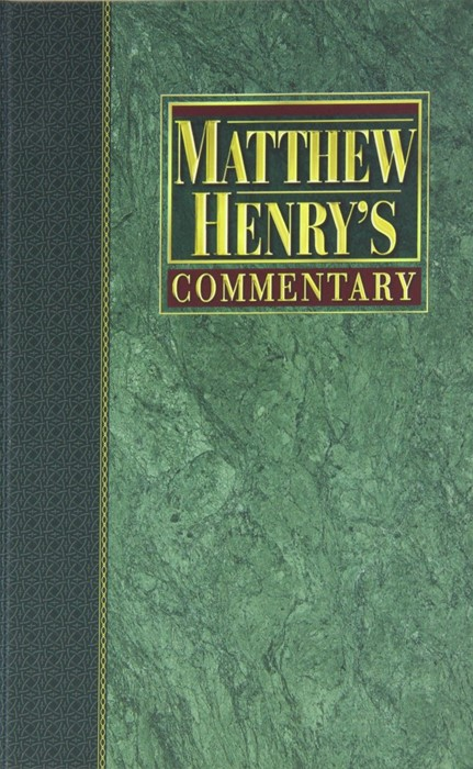 Matthew Henry's Commentary On The Whole Bible, 6 Vol. Set (Hard Cover)