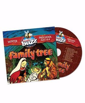 Buzz Preschool Family Tree CD, Winter 2018 (CD-Audio)