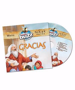Buzz Pre-K&K Gracias CD, Winter 2018 (CD-Audio)