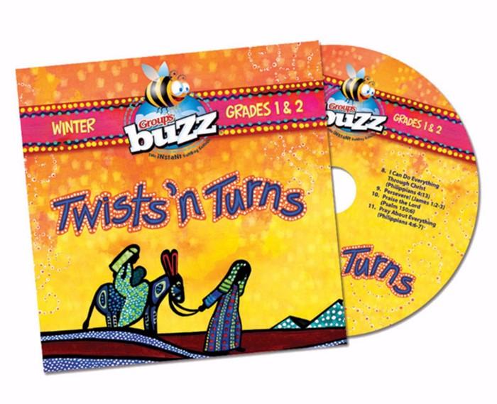 Buzz Grades 1&2 Twist'n Turns CD Winter 2018 (CD-Audio)