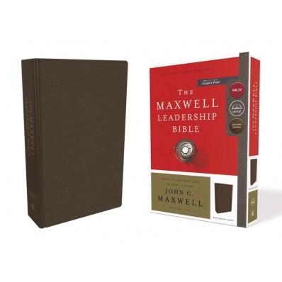 NKJV Maxwell Leadership Bible, Brown, Comfort Bible (Genuine Leather)