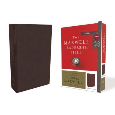NKJV Maxwell Leadership Bible, Burgundy, Comfort Print (Bonded Leather)