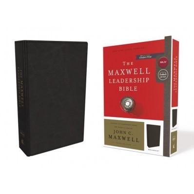 NKJV Maxwell Leadership Bible, Black, Comfort Print (Imitation Leather)