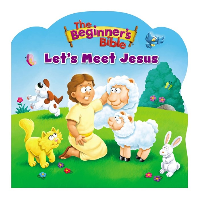 Beginner's Bible: Let's Meet Jesus (Board Book)
