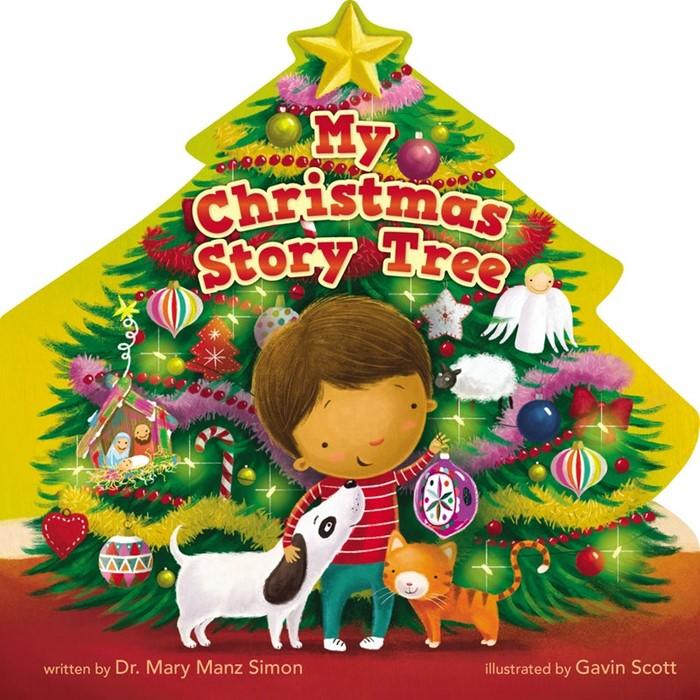 My Christmas Story Tree (Board Book)
