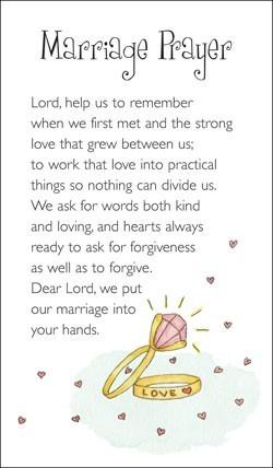 Marriage Prayer (Miscellaneous Print)