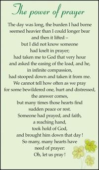 The Power of Prayer (Miscellaneous Print)