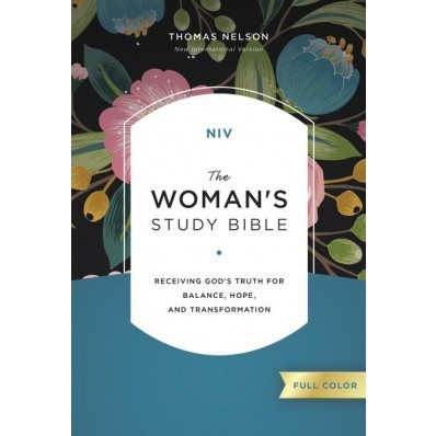 NIV Woman's Study Bible, Full-Color (Hard Cover)