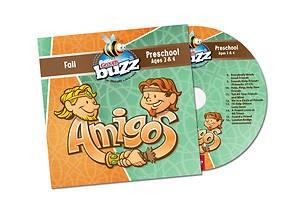 Buzz Preschool Amigos CD, Fall 2018 (CD-Audio)