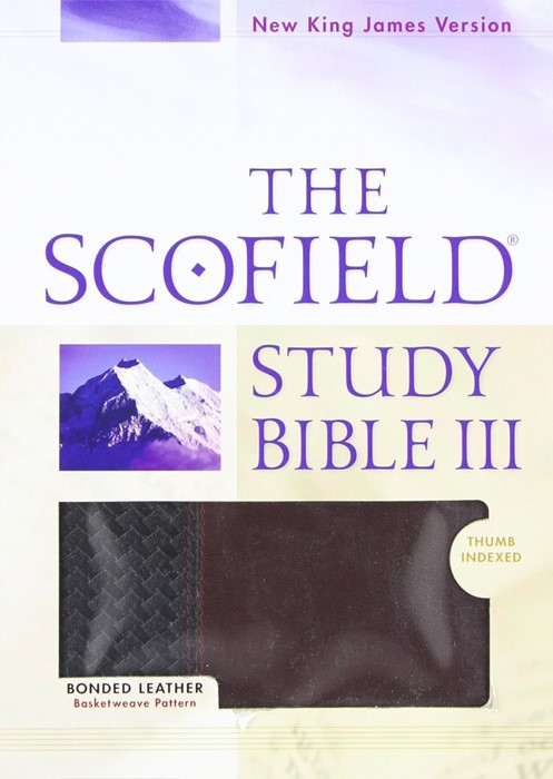 The NKJV Scofield Study Bible III (Bonded Leather)