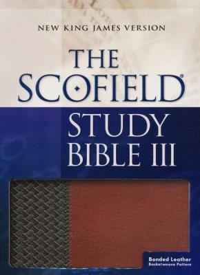NKJV Scofield Study Bible III, Brown/Tan (Bonded Leather)