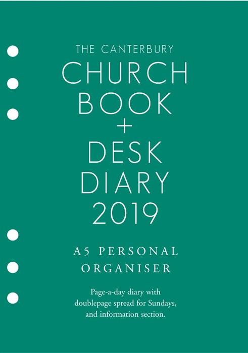 Canterbury Church Book And Desk Dairy 2019, A5 PO Edition (Loose-leaf)