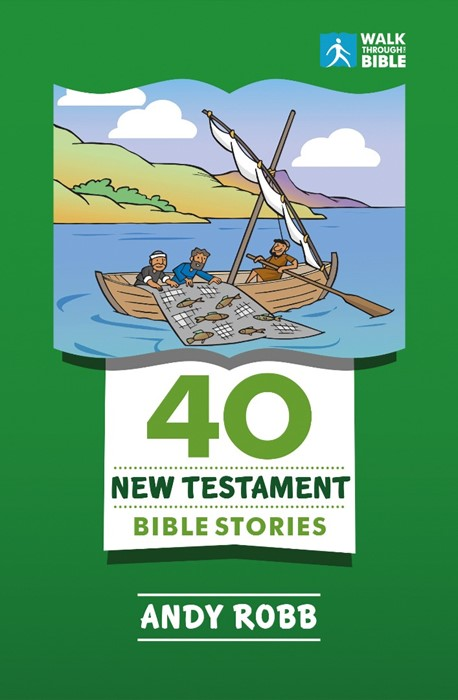 40 New Testament Bible Stories (Paperback)