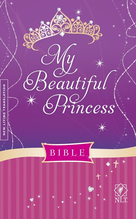 NLT My Beautiful Princess Bible (Hard Cover)