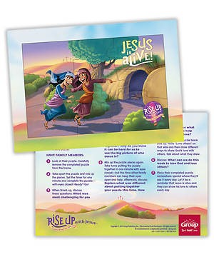 Rise Up With Jesus Puzzle (General Merchandise)