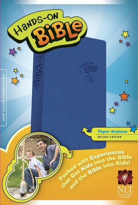NLT Hands-On Bible, Updated Edition (Imitation Leather)