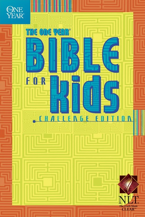 NLT One Year Bible For Kids, Challenge Edition (Paperback)