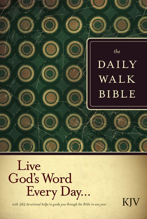 The Daily Walk Bible KJV (Hard Cover)