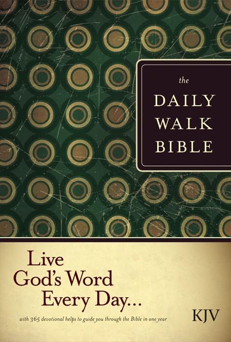 The KJV Daily Walk Bible (Paperback)