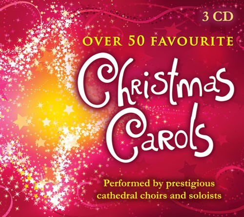 Over 50 Favourite Christmas Carols CD (CD-Audio)